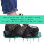 Adesugata Gazon à ongles Aérateur Chaussures avec 3sangles réglables et boucles métalliques–Heavy Duty à pointes Sandales pour aérer votre pelouse ou cour, pour une meilleure protection et plus Sain Jardin ou cour. 1paire de la marque ADESUGATA image 1 produit
