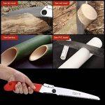 Aramox Scie d'élagage à lame droite Portable Scie à main pliante avec lame incurvée pour tailler les arbres, couper les branches, camper, défricher les sentiers forestiers. de la marque Aramox image 1 produit