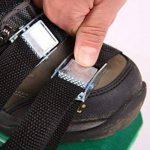 Aérateur de Gazon Spike Chaussures,Sandales d'Aérodrome avec 3 Sangles Réglables, Taille Universelle pour Aérer Votre Pelouse Cour EU-SPH-035 de la marque SeeParts image 4 produit