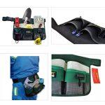 BESTOMZ Jardin Ceinture porte-outils, outils de jardin avec Multi-Pocket pour jardinage (Vert) de la marque BESTOMZ image 4 produit
