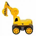 Big - 800055811 - Porteur Enfant - Vehicule Enfant avec Roues Silencieuses - Big Maxi Pelleteuse - Jeu de Sable de la marque Smoby image 1 produit