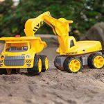 Big - 800055811 - Porteur Enfant - Vehicule Enfant avec Roues Silencieuses - Big Maxi Pelleteuse - Jeu de Sable de la marque Smoby image 3 produit