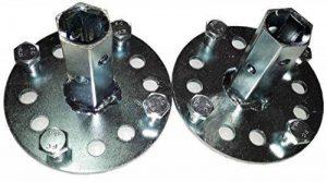 Bricoferr PT600041 Axe hexagonal de 23 mm pour roues métalliques et matériel de motobineuse de la marque Bricoferr image 0 produit