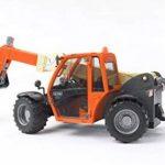 Bruder 02140 - Chargeur télescopique JLG 2505 - Orange de la marque Bruder image 3 produit