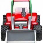 Bruder 20102 - Tracteur ROADMAX avec Pelle - Rouge de la marque Bruder image 1 produit