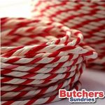 Butchers-Sundries Ficelle bicolore de 100mètres de long pour emballage de cadeaux de Noël de haute qualité Rouge/blanc de la marque Butchers-Sundries image 1 produit
