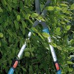 Cisaille à haies 700 T Comfort de GARDENA: sécateur télescopique précis pour haies et arbustes élevés, 70-90 cm, bras de levier extensibles (394-20) de la marque Gardena image 4 produit
