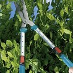 Cisaille à haies 700 T Comfort de GARDENA: sécateur télescopique précis pour haies et arbustes élevés, 70-90 cm, bras de levier extensibles (394-20) de la marque Gardena image 3 produit