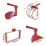 Cultivateur à roue/houe maraichère - Rouge de la marque OSE image 1 produit