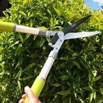 Davaon® Pro Jardin Cisailles à haie - moins d'efforts - tranchant - Coupe facile - revêtement antiadhésif - - Le meilleur pour les haies - Outil de jardinage longue durée d'élagage de la marque Davaon image 4 produit