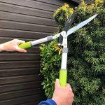 Davaon® Pro Jardin Cisailles à haie - moins d'efforts - tranchant - Coupe facile - revêtement antiadhésif - - Le meilleur pour les haies - Outil de jardinage longue durée d'élagage de la marque Davaon image 2 produit