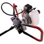 EBERTH 3 CV Tarière thermique (3 Mèches, 52 cc, Moteur à essence 2 temps, Embrayage centrifuge, Régulation de la vitesse) de la marque EBERTH image 1 produit