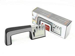 Ebshow Aiguiseur de couteaux et ciseaux de cuisine professionnels aiguisoir 4en 1manuel Système 3Stage couteau à aiguiser Outil de la marque EBSHOW image 0 produit