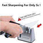 Ebshow Aiguiseur de couteaux et ciseaux de cuisine professionnels aiguisoir 4en 1manuel Système 3Stage couteau à aiguiser Outil de la marque EBSHOW image 4 produit