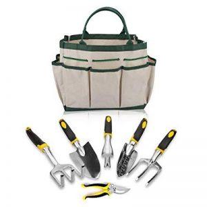Epack Ensemble de Outil de Jardin, Lot de 7 Pièces avec Sac de Rangement Outil Jardinage de la marque Epack image 0 produit
