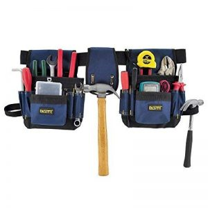 FASITE Ceinture Porte-outils Trousse Sac à Outils 32 Pochettes Sac de Rangement de Maintenance Electrique Sacoche Jardinage de la marque FASITE image 0 produit