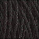 Ficelle coton, L: 120 m, épaisseur 2 mm, noir, Qualité épaisse 12/36, 250gr de la marque Creativ Company image 3 produit