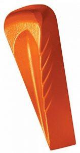 Fiskars Coin éclateur rotatif forgé de forme hélicoïdale, Pour merlin avec tête de frappe en polymère, Acier trempé (acier au carbone forgé), Orange, 1000600 de la marque Fiskars image 0 produit