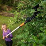 Fiskars Coupe-branches à enclume QuikFit pour bois sec et dur, Tête d'outil QuikFit, Diamètre de coupe: 3,2 cm, Acier/Plastique, Noir/Orange, 1001410 de la marque Fiskars image 3 produit