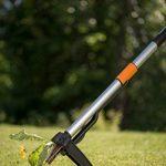 Fiskars Désherbeur télescopique, Longueur: 1-1,19 m, Manche en acier inoxydable/Poignée en plastique, Noir/Orange, SmartFit, 1020125 de la marque Fiskars image 6 produit