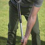 Fiskars Désherbeur télescopique, Longueur: 1-1,19 m, Manche en acier inoxydable/Poignée en plastique, Noir/Orange, SmartFit, 1020125 de la marque Fiskars image 4 produit