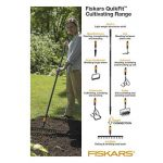 Fiskars, Grattoir de jardin Quikfit™, Tête en acier, 1000738 de la marque Fiskars image 4 produit