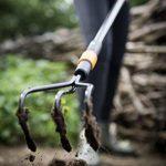 Fiskars, Griffe piocheuse à 3 dents spatulées Quikfit™, Tête en acier, 1000680 de la marque Fiskars image 4 produit
