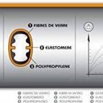 Fiskars Masse forgée 4 kg, Avec pare-faux coup, Tête en acier au carbone/Manche trimatière avec noyau en fibre de verre, Noir/Orange, XL, 1001431 de la marque Fiskars image 4 produit