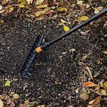 Fiskars Râteau universel à 12 dents, Tête d'outil QuikFit, Largeur: 41 cm, Plastique renforcé de fibre de verre, Noir/Orange, QuikFit, 1000643 de la marque Fiskars image 2 produit