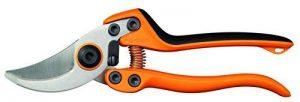 Fiskars Sécateur professionnel à lames franches, Lames en acier de qualité, Longueur: 21 cm, Noir/Orange, PB-8 L, 1020203 de la marque Fiskars image 0 produit