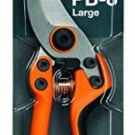 Fiskars Sécateur professionnel à lames franches, Lames en acier de qualité, Longueur: 21 cm, Noir/Orange, PB-8 L, 1020203 de la marque Fiskars image 2 produit