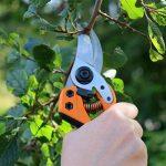 Fiskars Sécateur professionnel à lames franches, Lames en acier de qualité, Longueur: 21 cm, Noir/Orange, PB-8 L, 1020203 de la marque Fiskars image 3 produit