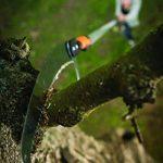 Fiskars Scie à élaguer pour manche télescopique QuikFit, Tête d'outil, Longueur: 55 cm, Lame en acier trempé, Noir/Orange, QuikFit, 1000691 de la marque Fiskars image 1 produit