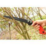 FLORA GUARD 53cm Scies d'élagage avec gaine - Scie à main pour la coupe d'arbres, le camping de la marque FLORA GUARD image 4 produit