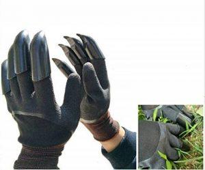 FuXing Gants de Jardin avec Des Griffes, Gant de Jardinage Outil Rapide et Facile à Creuser et à Planter des Plantes de Pépinière, Meilleur Cadeau Pour le Jardinier de la marque FuXing image 0 produit