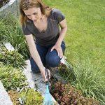 Gardena Balai à gazon Combisystem balai à main pour ramasser les déchets de jardin, largeur de travail 12 cm, en acier de qualité, poignée ergonomique, protection contre la corrosion (8919-20) de la marque Gardena image 1 produit