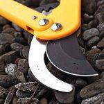 GRÜNTEK Cisaille Coupe-branches LEOPARD 540 mm, Sécateur à crémaillère et lame 78 mm. Ébrancheur Bypass avec 90 jours de garantie. de la marque GRÜNTEK image 2 produit
