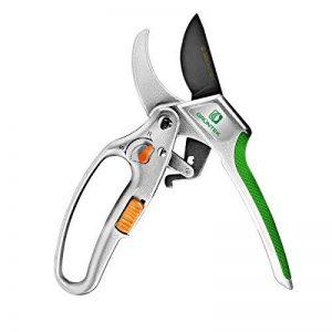 GRÜNTEK Sécateur à cliquet CACATOES avec sélecteur marche/arrêt. Coupe Branches jusqu'à 24mm. de la marque GRÜNTEK image 0 produit