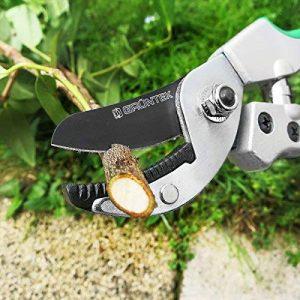 GRÜNTEK Sécateur à enclume TOUCAN 195mm avec lame en acier japonais SK5, avec poignées Soft-touch. de la marque Grüntek image 0 produit