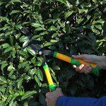 GRÜNTEK Cisailles à Haies - BROCHET en téflon 560mm, taille haie et arbustes avec lame courbée et double revêtement en téflon. Prix de lancement. de la marque Grüntek image 3 produit
