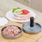 Gwhole Presse à Burger Steak Haché + 100 Disques de Cire - Diamètre 11.5cm Antiadhésif en Aluminium de la marque Gwhole image 2 produit