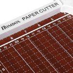 Homdox Massicot Base Taille Large Blanc Cisaille Personnelle 10 Feuilles 30,5 cm En Métal Papier A4 Machine de Coupe-papier Cutter Pour Office Bureau –Blanc de la marque Homdox image 2 produit