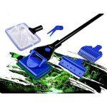 Kit de nettoyage 5 en 1 pour aquarium NUOLUX, râteau de gravier, outil de nettoyage d'algues. de la marque NUOLUX image 1 produit