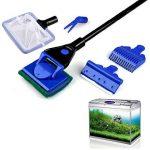 Kit de nettoyage 5 en 1 pour aquarium NUOLUX, râteau de gravier, outil de nettoyage d'algues. de la marque NUOLUX image 2 produit