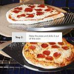 L'ultime Planche à Pizza en Aluminium. Pelle de 35cm - Revêtement Antiadhésive, Poignée en Bois de 25cm. Grande, Légère Spatule Métallique pour Cuire Pizzas et Pains au Four et Grillade de la marque Love This Kitchen image 4 produit