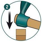 Leborgne 364141 Houe standard forgée 14 cm avec manche en Bois de la marque Leborgne image 3 produit