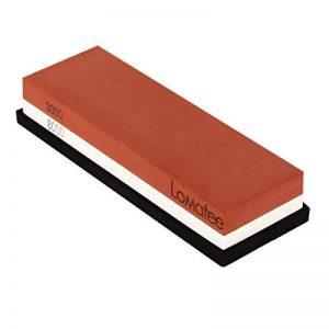 LOMATEE Pierre à aiguiser 3000/8000 Aiguiseur de couteaux pour Affûtage et Rondage avec base anti-dérapant de la marque LOMATEE image 0 produit