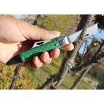 Lunji Pliable Couteau de Greffage Acier Inox Sécateurs De Jardin Kit d'Outil - 18cm, Greffage d'arbres fruitiers de la marque Lunji image 3 produit