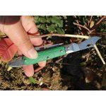 Lunji Pliable Couteau de Greffage Acier Inox Sécateurs De Jardin Kit d'Outil - 18cm, Greffage d'arbres fruitiers de la marque Lunji image 4 produit