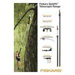Manche télescopique pour têtes d'outils QuikFit, Longueur: 1,4-2,4 m, Aluminium, Noir/Orange, QuikFit, 1000666 de la marque Fiskars image 3 produit